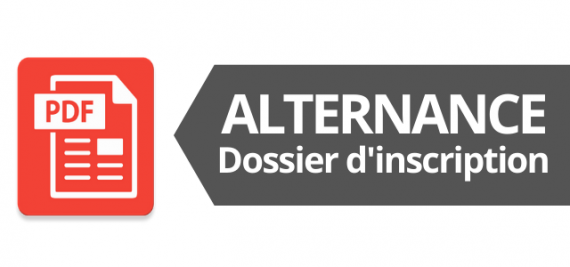 Formation en alternance : dossier d'inscription