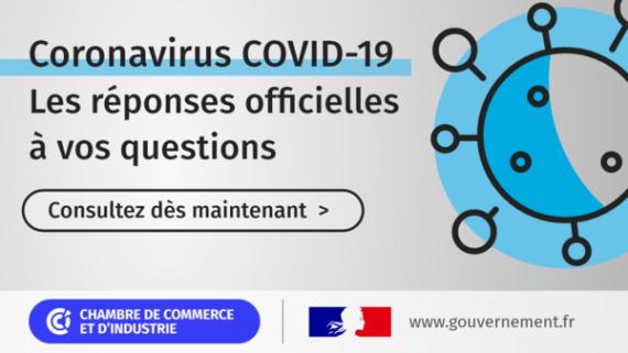 Coronavirus covid-19 region auvergne-rhône-alpes reponses CCI FRANCE Aides aux entreprises