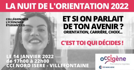 Nuit de l'orientation 2022 en Isère